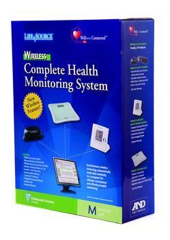 Wireless Blood Pressure / Precision Scale / Activity Monitor Combo
