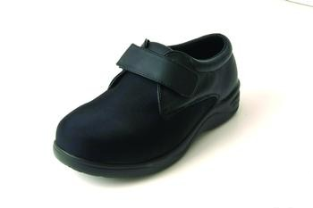 Stride-Lite™ Lycra Carolina Diabetic Shoe Black Extra Wide