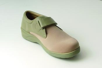 Stride-Lite™ Lycra Carolina Diabetic Shoe Taupe Extra Wide