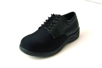 Stride-Lite™ Lycra Carolina Diabetic Shoe Black Extra Wide