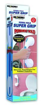 Super Grip Perma Hold Handle Bathtub Shower Safety Handle Rail