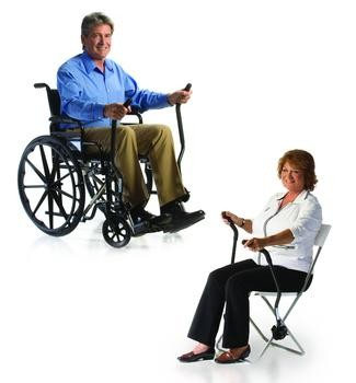 Love Handles Wheelchair Workout Exercise Attachment