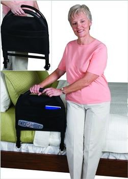 Standers Lightweight Portable Bed Rail Advantage Traveler With Organizer