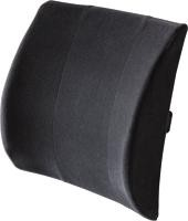 Black Lumbar Support Back Cushion