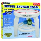 Swivel Shower Stool Rotates 360 degrees