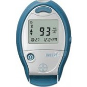 Bayer Ascensia Breeze 2 Blood Glucose Meter, Results in 5 sec, No Coding Required