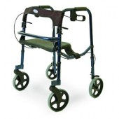 "Invacare Rollite Blue Adult Rollator with 8"" Wheels INV68100"