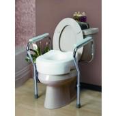 Adjustable Toilet Safety Frame
